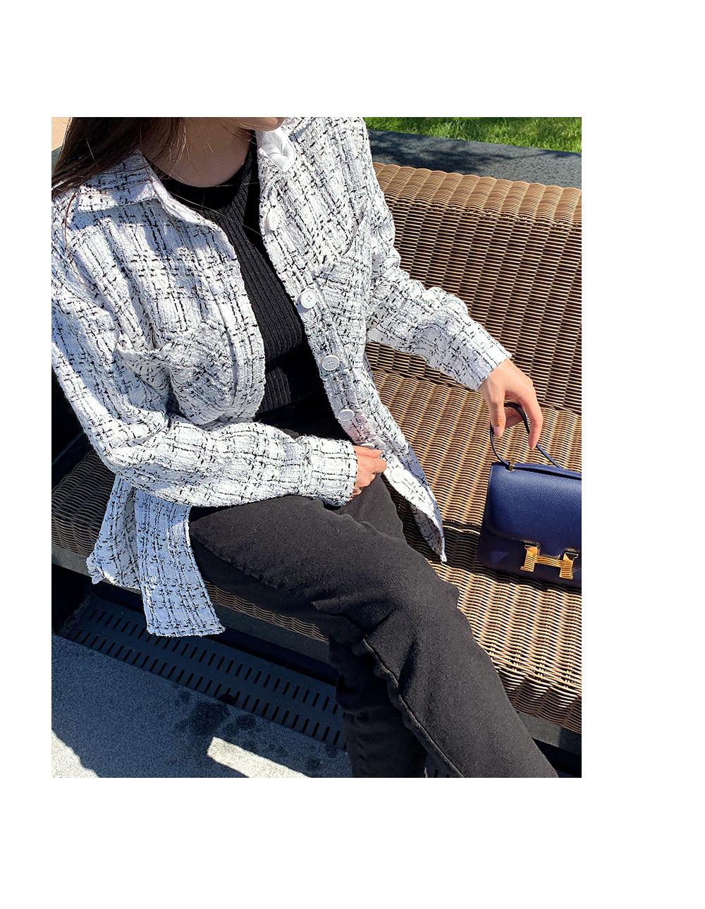 마인디 트위드 자켓